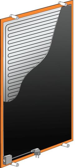 Конструкция дизайн-радиатора