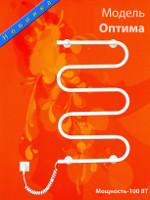Электрические полотенцнсушители модель Оптима